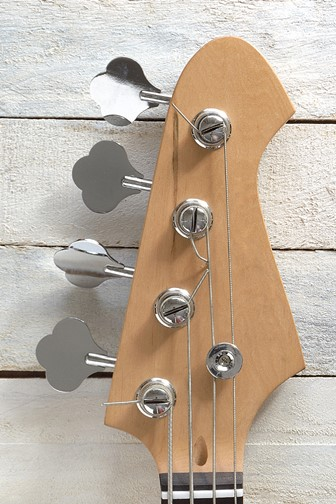 electric bass guitar tuning pegs